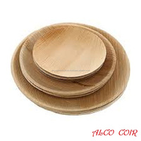 Best Wooden Plates Palm Leaf Plates Round Shaped Areca Leaf Plates Buy...