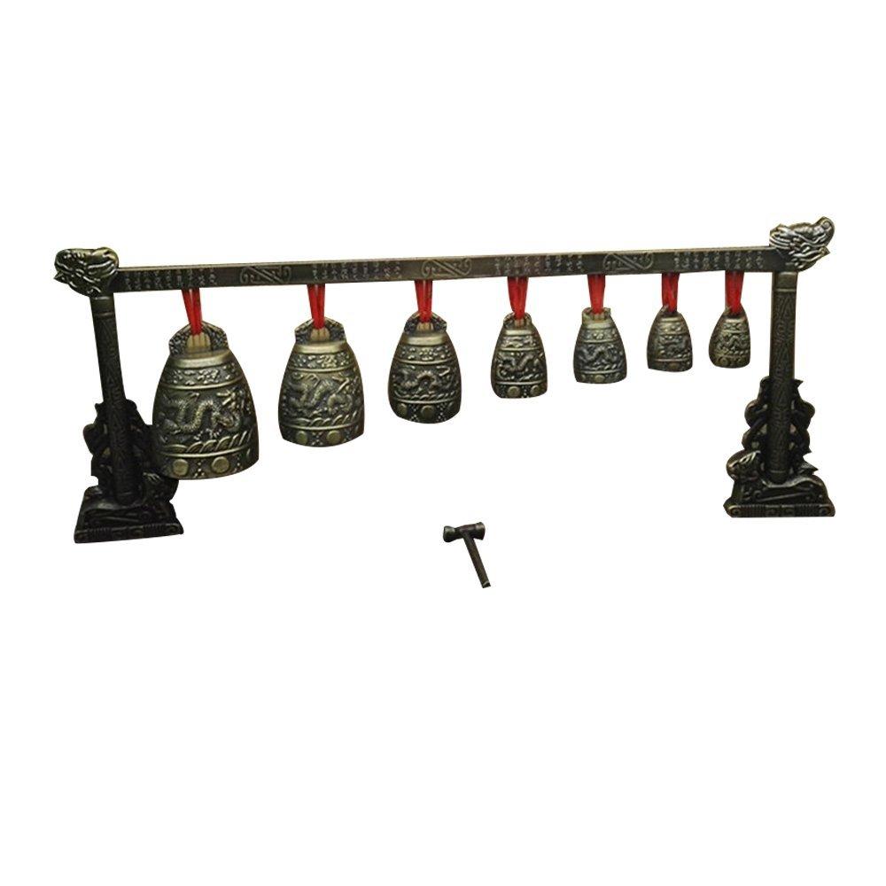 Feng Shui Zen Art Desktop Brass Feng Shui Windbell W3030 (Style 2)