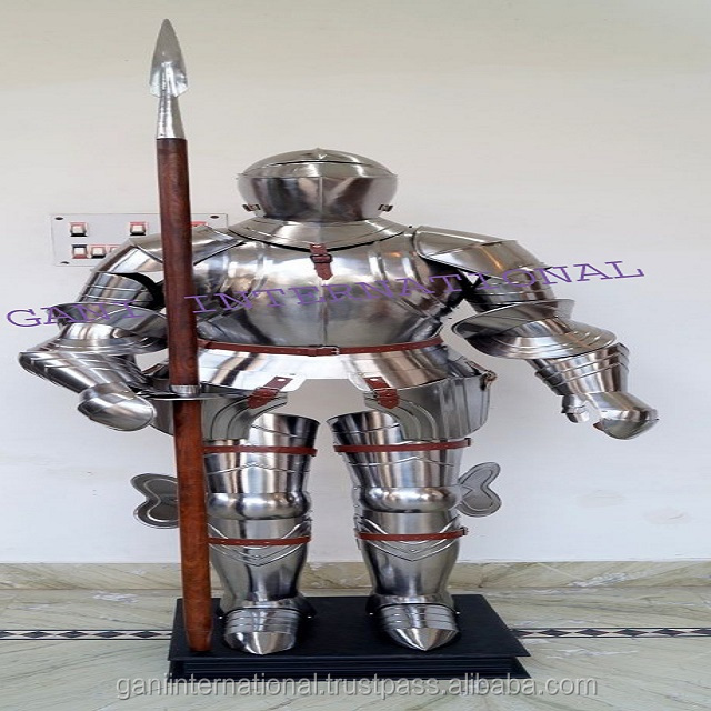 Medieval Crusader Suit Of Armor 17th Century Combat Full Body Armour Suit ,  Buy Full Body Armor For Sale,Decorative Full Body Armor,Medieval Knight