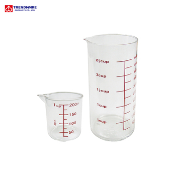 Kitchen 500 to 200ml Acrylic Measuring Cup with Lip, View measuring cup  200ml, Trendware Product Details from TRENDWARE PRODUCTS CO., LTD. on ...