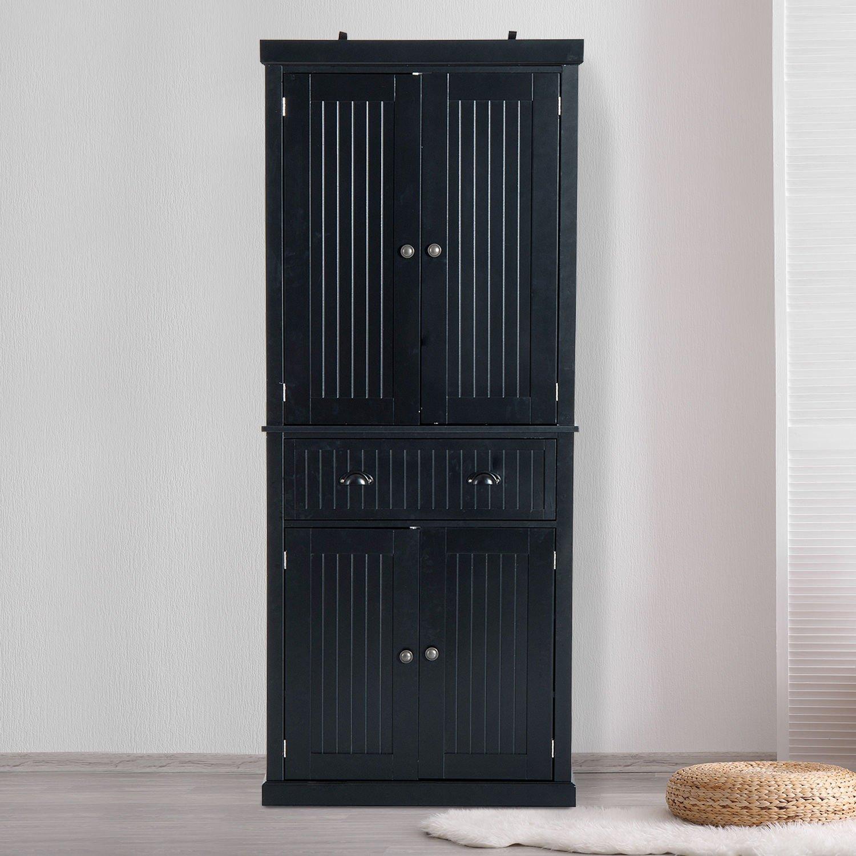 Generic Nv 1008004217 Bl Us5284217 Home Organizer Storag Kitchen Pantry Tall Storage Cabinet Et