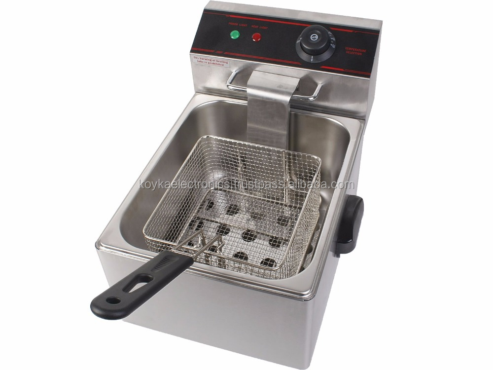 Hot Sale Commercial Electric Deep Fryer / Electric Deep Fat Fryer / Industrial Fryer in india for sale