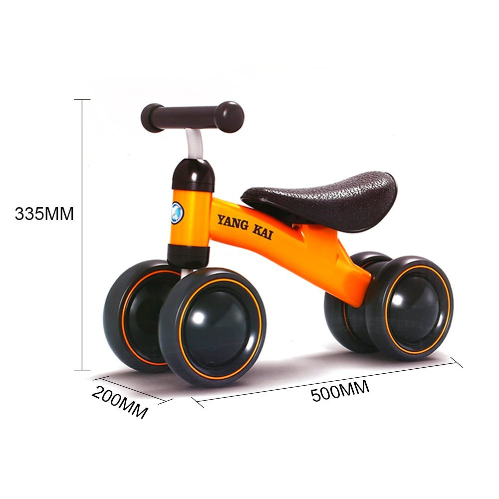 Activity & Gear New Children Three Wheel Balance Bike Scooter Baby Walker Portable Bike No Foot Pedal Bicycle Baby Walker Tricycle Riding Toys In Short Supply Mother & Kids