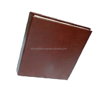 2018 classic hot diary custom leather ring binder a4 notebook / Newest most popular pure leather diploma ring binder