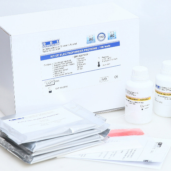DDS Diagnose Agarosegelelektrophorese kit 100 oder 200 tests, in-vitro-diagnostische