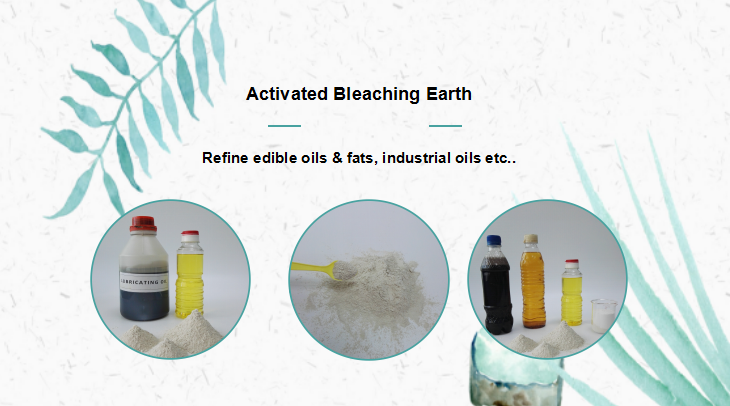 activated clay for used oil recycling fuller earth color removal chemical