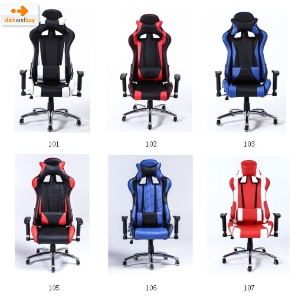 High Back Cheap Metal Frame Racing Car Style Bucket Seat
