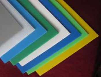 eco-friendly customized popular PP hollow plastic corrugated sheet