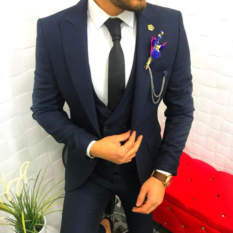 92ee391b3bb Men Slim Fit Suits Mens Wedding Italy Suits With Pants Business Mens Formal  Wear