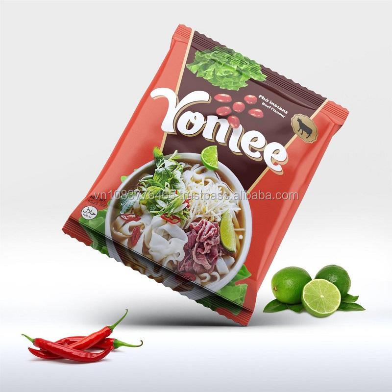 Rice Noodle Beef and Chicken Flavor Vietnamese Instant Noodles Delicious and Good Price
