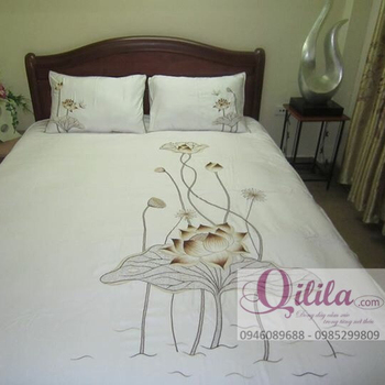 Embroidery yellow flower bedding set buy embroidery bedding set embroidery yellow flower bedding set mightylinksfo
