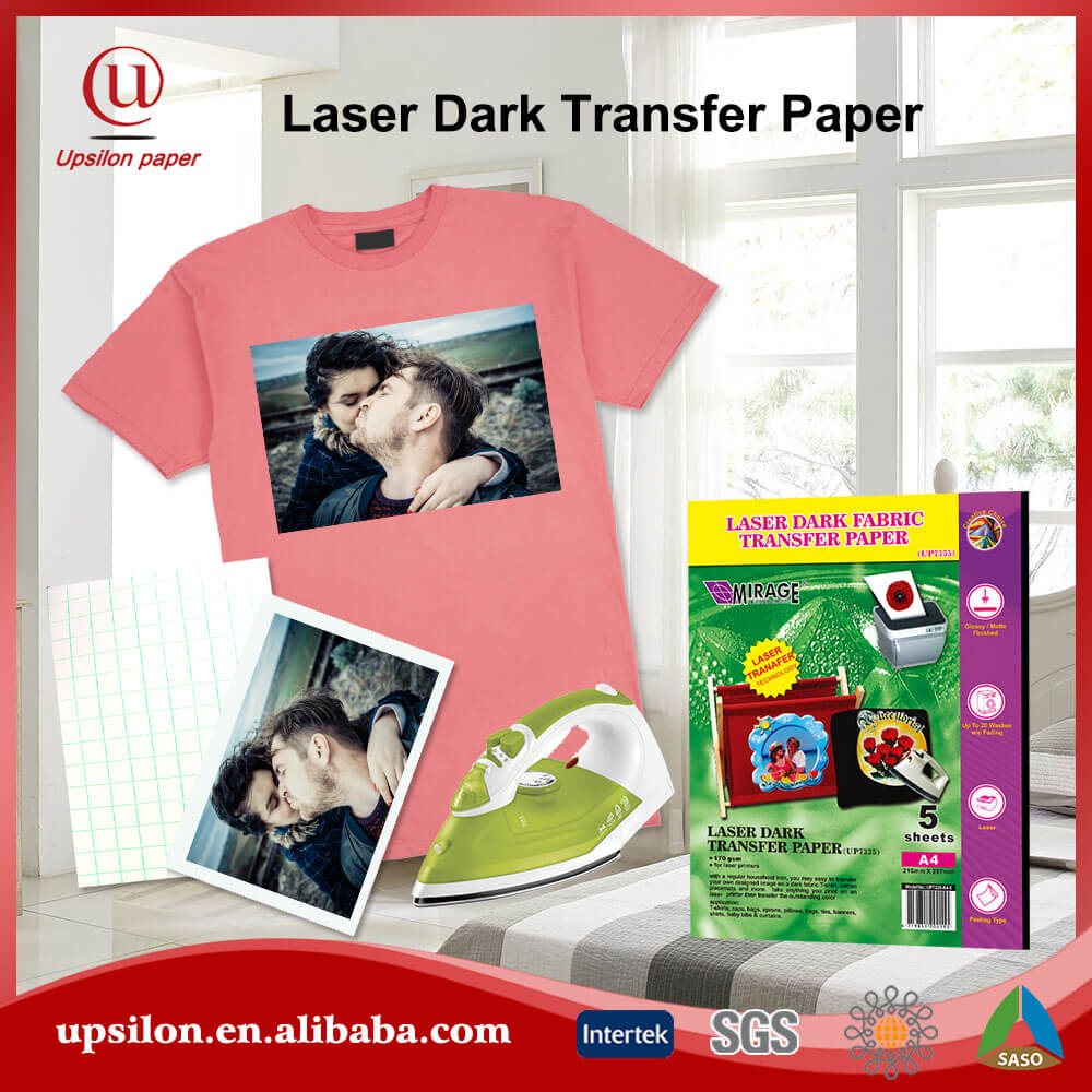 OEM Pack Laser Dark Shirt Paper Photo Transfer
