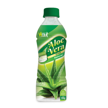 350ml natural price aloe vera juice with pulp wholesale supplier Vietnam