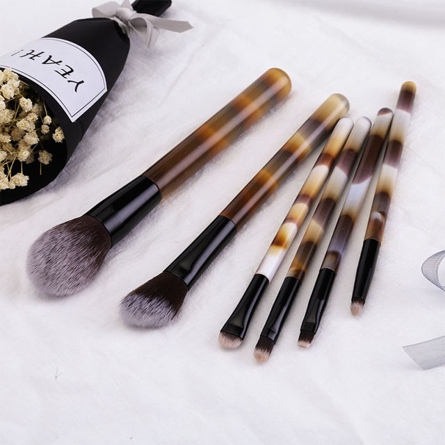 Make-up Kwasten Soft Up Borstel Set Foundation Powder Brush Beauty Marmer Make Up Gereedschap