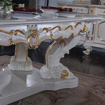 Rococo Style Furniture French Dining Room Furniture Antique Hand