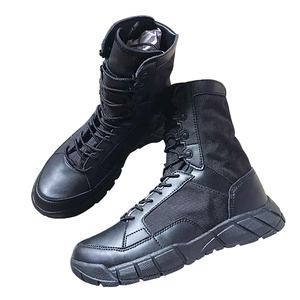 sweat absorption long searching kaiya combat military boots