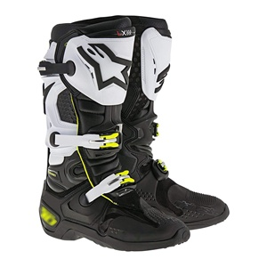 Black&White / new arrive motorcycle men racing boots /Motocross Boots/Motorbike boots