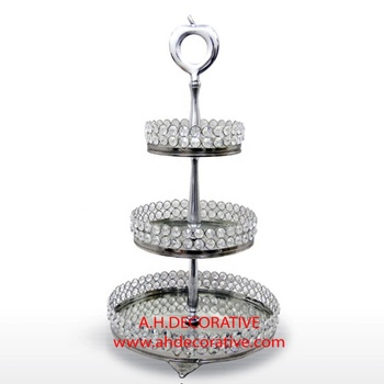 Crystal Cake Stand 3 Tier