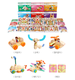 Wooden Building Blocks Toys Full Set for Kids EN71, CE