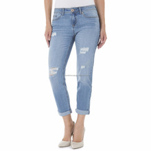Vrouwen <span class=keywords><strong>huid</strong></span> fit <span class=keywords><strong>jeans</strong></span> ripped <span class=keywords><strong>dames</strong></span> broek