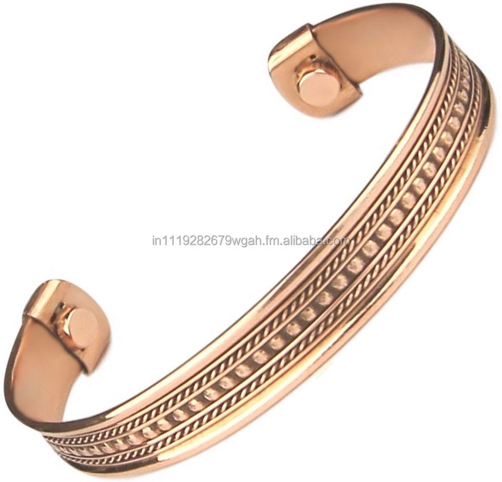 Copper Magnet Bracelet Magnetic