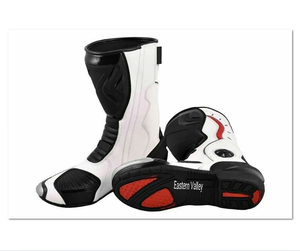 Motorbike Shoes Motorcycle Racing Leather Boots CustomMade