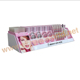 cosmetic acrylic display, acrylic makeup brush holder, retail store counter top cosmetic acrylic stand
