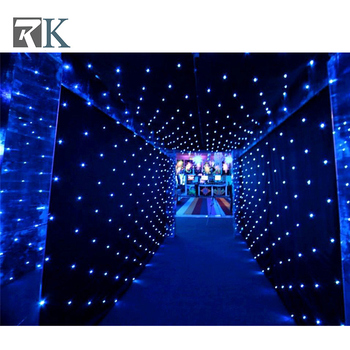 10ft Led Star Curtains Mini Lights For Fabric Stage Laser Light High Quality