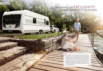 Luxury Caravan Tabbert Cellini 750 HTD 25 Travel Trailer Camping
