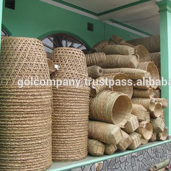 Grosshandel Basdome Korbe Basopen Lampe Bambuskorben Fur Obst Buy