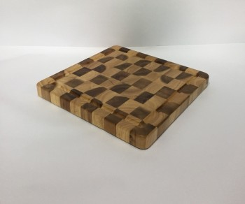 High quality best selling eco friendly Square Natural RubberWood Cutting Board from Viet Nam