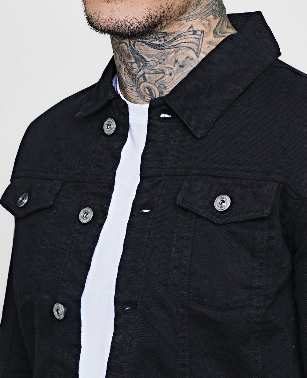 Factory Dropshipping Mens Autumn Jean Jacket Vintage Dark Blue