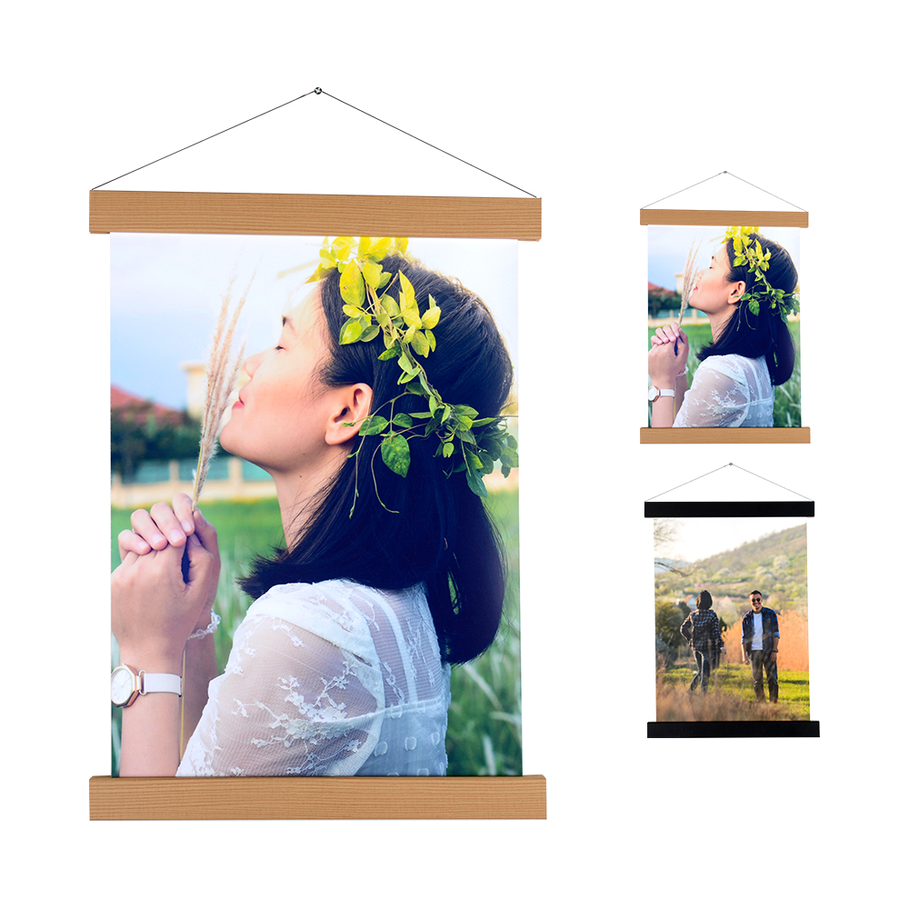 Hangin Photo DIY Brown Black Rope Colorful Album Wall Picture Magnet Home Decor