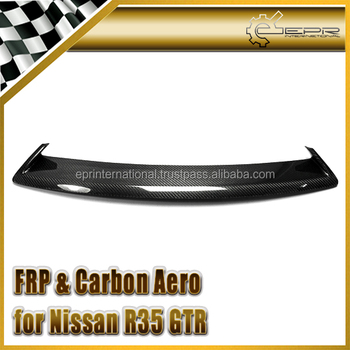 For 2012 on R35 GTR OEM Carbon Fiebr Front Grille