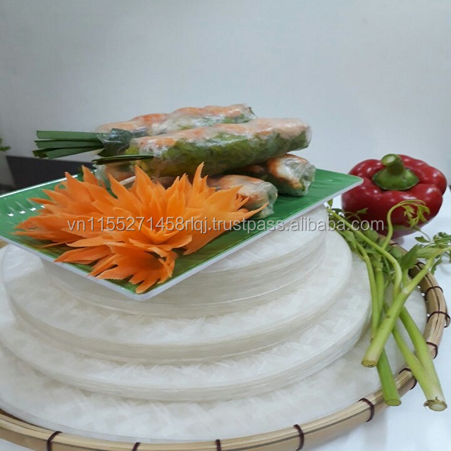 Vietnamese 16 22 Cm Edible Rice Paper Spring Roll Buy Edible Rice
