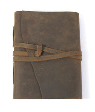 Beste qualität vintage handmade brown farbe buffalo <span class=keywords><strong>leder</strong></span> journal