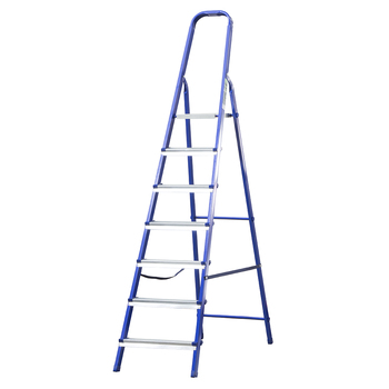 Step ladder, 7 steps, steel // SIBRTEH