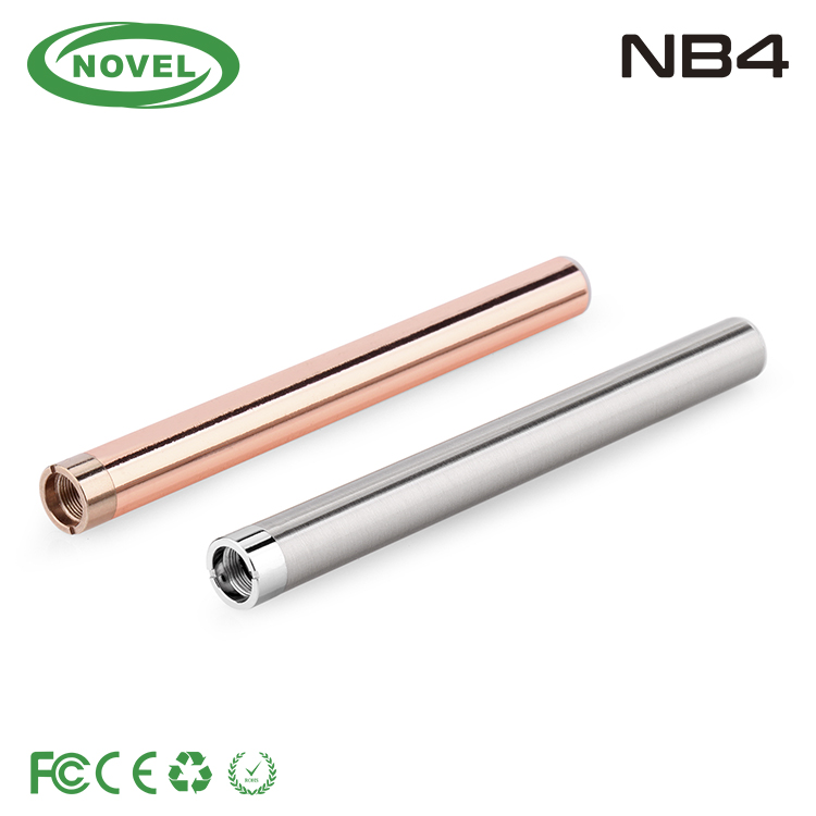 2016 new e cig cbd oil cartridge vape pen thick oil vaporizer pen 510 battery NB4 cbd vape pen battery