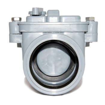 Water stop valve 50 mm for sewer pipes