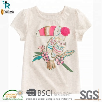 531bf0a07aff Trending products New arrival Girls latest design cheap custom kids wear  baby boy t shirt