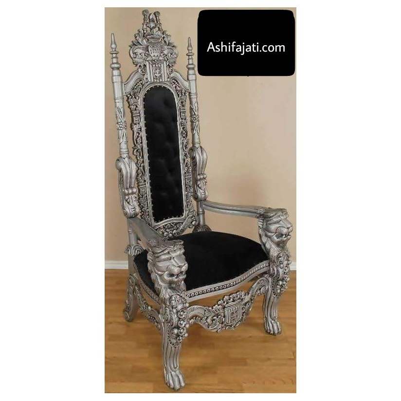 Best seller King lion throne chair, wooden throne chair,antique king throne chair