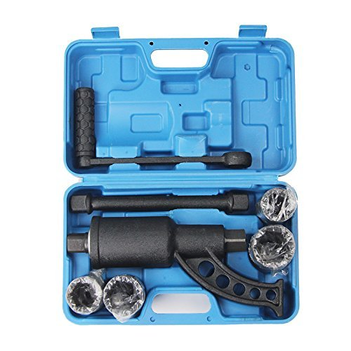 DREAMALL Heavy Duty Torque Multiplier Labor Saving Lug Nut Remover Wrench Set with Case Blue