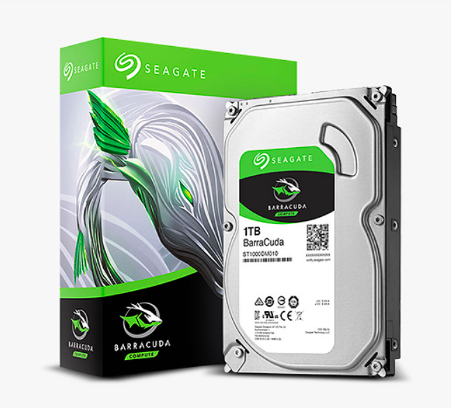 Nuovo originale! 1 TB SEAGATE BarraCuda 3.5in 7200 RPM 64 M SATA 6 Gb/s MAC PC HDD 2yr Ironico ST1000DM010