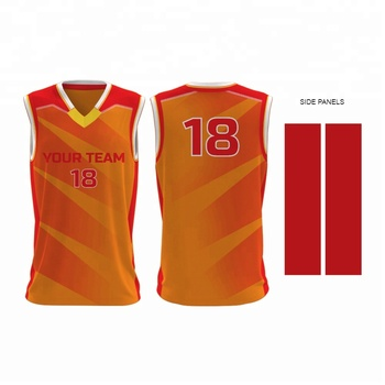 Sublimation Printed Latest Basketball Jersey Design 2018 Buy
