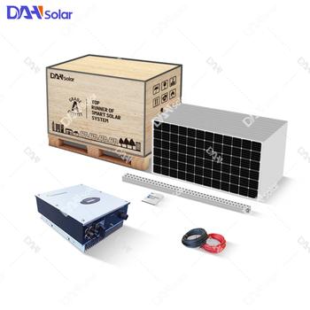 10kw Solar System With 320w 300w Solar Panel Lg 370w Solar Panels - Buy  10000 Watt Solar Panel System,Wind Solar Hybrid Power System,10kw Off Grid