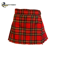 Ultra Mini Kilt Stewart Royal