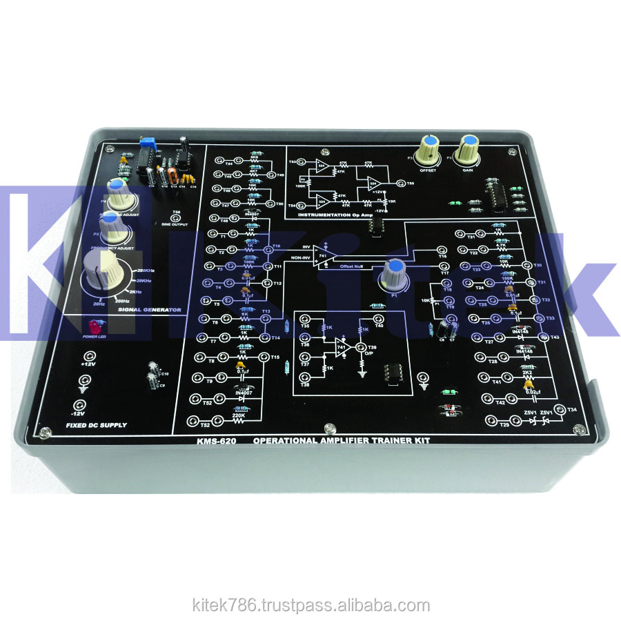 Operational Amplifier Kit Didactic Trainer Equipment Buy Opamp Multivibrator Electronics Lab Trainerbasic Kitelectronics Product On