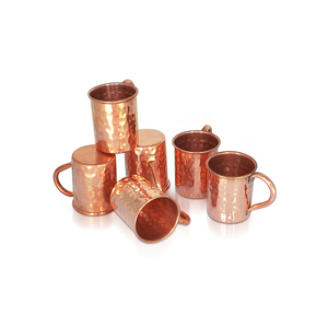 OEM Supplier Copper Hammered Moscow Mule Mini Mugs