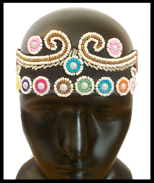 Queen of World multiple color crown shape with high quality hairband headband