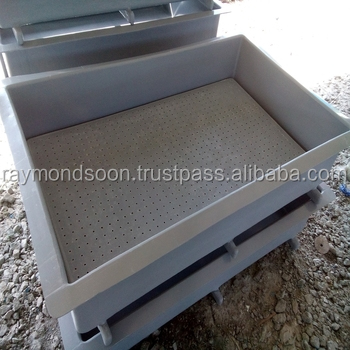 Stackable Rectangular Tank L 5ft X W 3ft X H 1ft With Leg Support= Usd 178  / Unit - Buy Fibreglass Tank,Ras,Stack-able Fiber Tank Product on